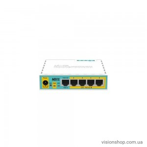 Маршрутизатор Mikrotik RouterBoard hEX PoE lite RB750UPr2