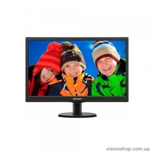 "Монитор 24"" Philips 243V5QHSBA/01 Black"