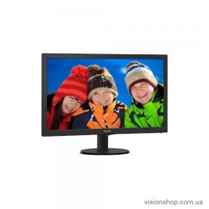 "Монитор 24"" Philips 243V5QHABA/01 Black"