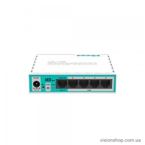 Маршрутизатор Mikrotik RouterBoard RB750r2 hEX lite